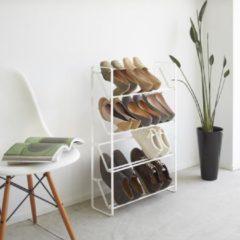 Witte Yamazaki - Shoe rack - Slim 4 - white
