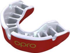 OPRO Gebitsprotectie Unisex Gold Junior - 222700 Rood/Wit