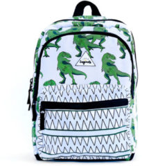 Paarse Little Legends-Rugzakken-Backpack Large Dino-Groen