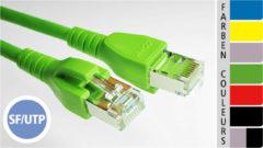EC-net Patchkabel Kat. 5e SF/UTP, gelb, 3,0 m
