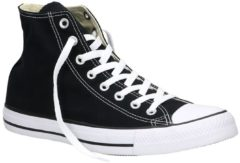 Converse Unisex Chuck Taylor All Star Canvas Hi-Top Trainers - Black - UK 9
