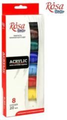 Rosa Studio Acrylverf Set 8 x 20 ml