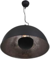 Zilveren Heg verlichting VandeHeg Eclips - Hanglamp - 1 lichts - ø50cm - Landelijk