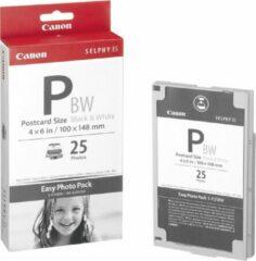 Canon E-P25BW Easy Photo Pack briefkaartformaat - 25 prints (zwart-wit)