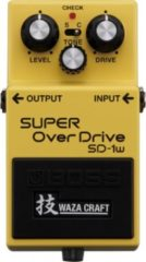 Boss SD-1W Waza Craft Super Overdrive overdrive pedaal
