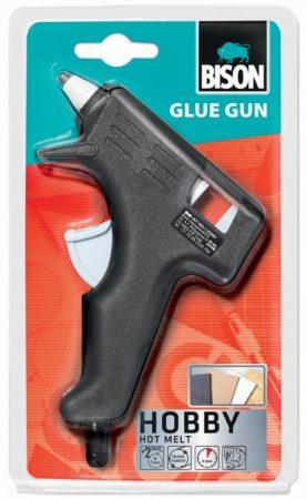 Afbeelding van Bison Glue Gun Hobby lijmpistool blister met 2 sticks