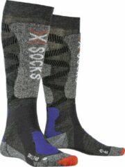 X-socks Skisokken Light 4.0 Polyamide/wol Grijs Mt 39-41
