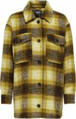 Only WOOL ALLISON CHECK WOOL Dames Jas Maat L