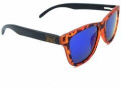 WOED | Wayfarer| houten zonnebril | LEOPARD