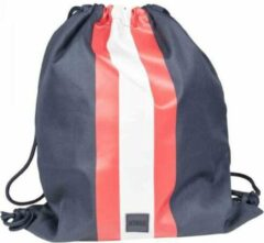 Urban Classics Gymtas/Rugtas Striped Blauw/Rood