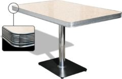 Bel Air Retro Eettafel TO-22W Antique White - Bel Air Retro Eettafel TO-22W Antique White