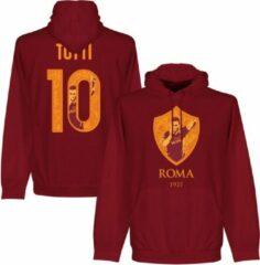 Bruine Retake AS Roma Totti 10 Gallery Hooded Sweater - XXL