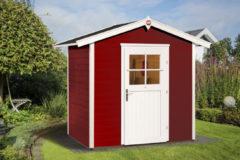 Rode WEKA | Tuinhuis 223 | 205 x 154 cm | Zweeds rood
