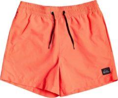 Koraalrode Quiksilver Everyday Volley 13 Boardshorts oranje