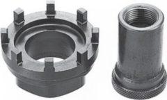 """SHIMANO Y13098090 Innenlager-Montage-Werkzeug """"TL-UN96"""" und Abzieher für großes Kettenblatt, grau (1 Stück)"""