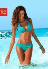 LASCANA Triangel-Bikini mit charmantem Falten-Effekt