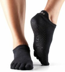 TOESOX™ - Low Rise Full Toe Zwart XS