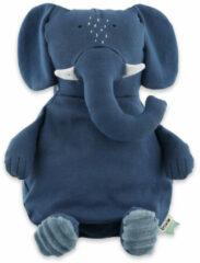 Trixie Baby Accessoires Plush toy large Mrs. Elephant Blauw