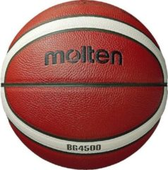 Oranje Basketball ball TOP competition MOLTEN B7G4500-X FIBA, synth. leather size 7