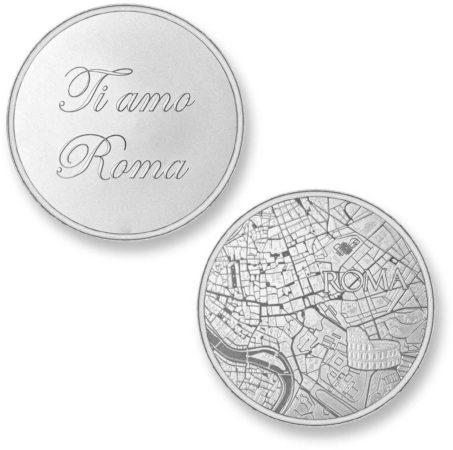 Afbeelding van Zilveren Mi Moneda Del Mundo - Rome silver Del Mundo - Rome silver munt