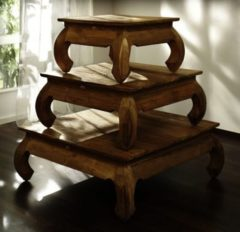 SIT Möbel SIT Opiumtisch 80 x 80 cm SEADRIFT 6280-01