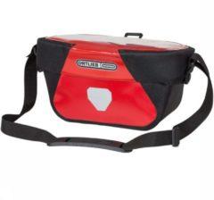 Ortlieb - Ultimate Six Classic 5 - Stuurtas maat 5 l, zwart/rood/grijs