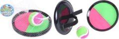 Probeach Pro Beach Vangbalspel Met Klittenband Groen/roze