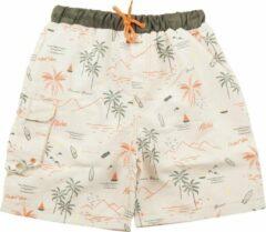 Ducksday - UV zwemshort voor jongens - UPF 50+- Waikiki - 8 jaar