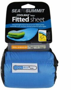 Sea To Summit Coolmax Fitted Regular Hoeslaken Blauw