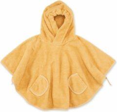 Bemini Poncho kind / poncho handdoek / badcape baby golden / geel