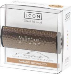 Bruine Millefiori Milano Auto parfum Sandalo Bergamotto (Metal Shades)