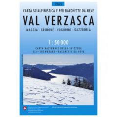 Swisstopo - 276 S Val Verzasca - Skitourgidsen Ausgabe 2012