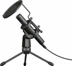 Trust GXT 241 Velica - Microfoon - voor Gamen & Streaming - USB - met popfilter - Zwart