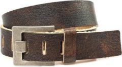JV Belts JV Belts Unisex Broekriem Bruin 100 cm