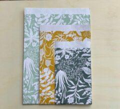 Groene Greetje Aalders Cadeau zakjes Botanic Garden 3 Maten