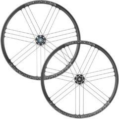 Zwarte Campagnolo Zonda C17 wielset voor schijfremmen (steekas, 6-gats) - Performance wielen