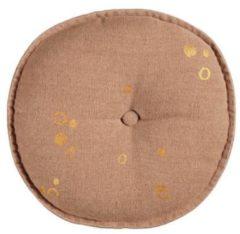 Roze Vtwonen sierkussen Dot Round (40x40 cm)