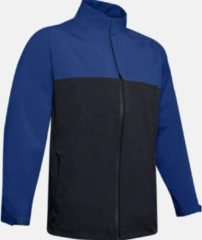 Under armour UA Elements Rain Jacket-Royal Zwart - Heren