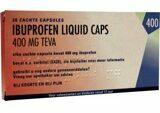 Teva Ibuprofen 400 Mg Liquid (20ca)