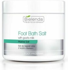 Bielenda Professional - Foot Bath Salt With Goats's Milk sól do kąpieli stóp z kozim mlekiem 600g