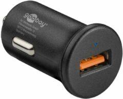 Goobay USB autolader met 1 poort - Quick Charge 3.0 - 3A / zwart