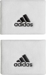 Adidas Wristband tennis ZweetbandVolwassenen - wit/zwart