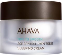 Ahava - Age Control Even Tone Sleeping Cream - 50 ml