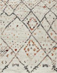 Creme witte Merinos/karpet24.nl Karpet Marokko 832-62 Crème 80 x 150 cm