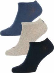Puma sokken - set van 3 donkerblauw/grijs/zwart