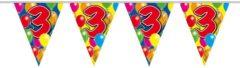 Amigo Slingers verjaardag 3 jaar ballonnen - 10 meter