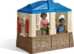 Roze Step2 speelhuisje Neat & Tidy Cottage blauw 130 x 120 x 89 cm