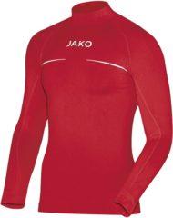 Rode Jako Turtleneck Comfort Sportshirt performance - Maat XL - Mannen - rood