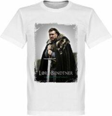 Witte Merkloos / Sans marque Merkloos Heren T-shirt 4XL