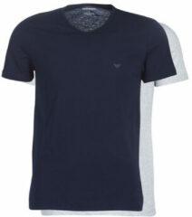Blauwe T-shirt Korte Mouw Emporio Armani CC722-111648-15935